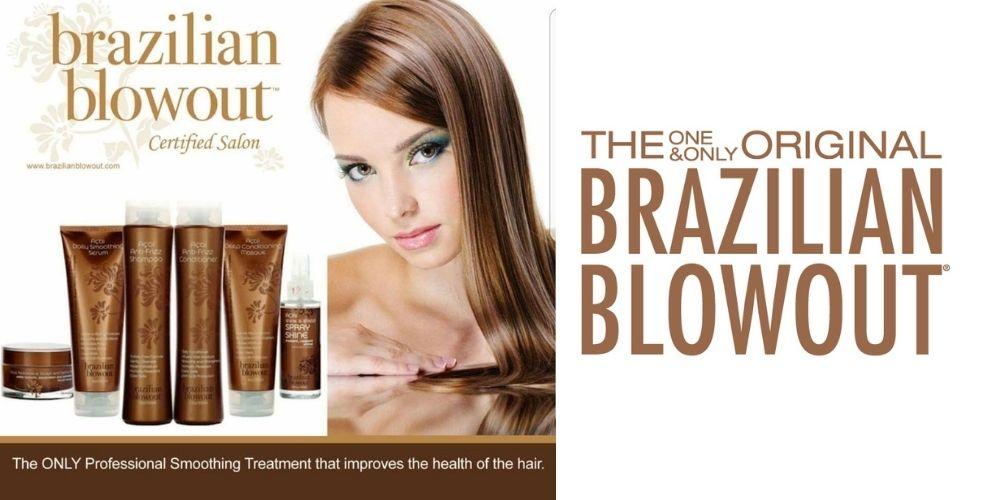 Brazilian Blowout short & medium length.