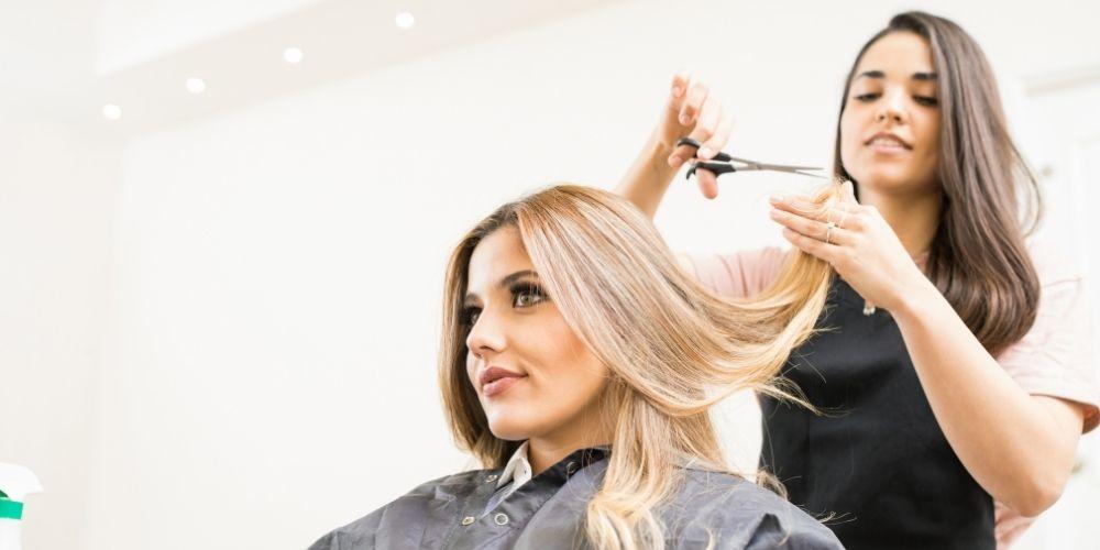 Hair Cut any hair length with Light Blow Dry